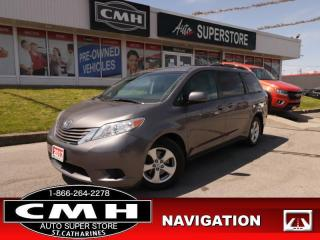 Used 2017 Toyota Sienna LE  8-PASS HS NAV P/SEAT P/DOORS CAM for sale in St. Catharines, ON