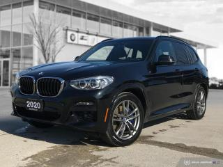 Used 2020 BMW X3 xDrive30i M-Sport! for sale in Winnipeg, MB