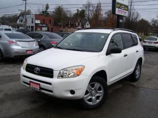 Used 2008 Toyota RAV4 AUTO,A/C,AWD,CERTIFIED,NO ACCIDENT,TINTED for sale in Kitchener, ON