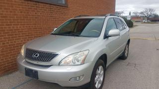 Used 2005 Lexus RX 330 ultra permium-navi-DVD-backup cam for sale in Oakville, ON