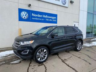 Used 2015 Ford Edge TITANIUM AWD - LEATHER / SUNROOF / NAVI for sale in Edmonton, AB