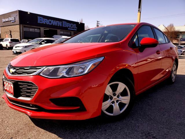 2017 Chevrolet Cruze LS, LOCAL, ACCIDENT FREE,