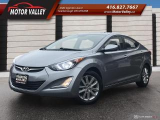 Used 2015 Hyundai Elantra Sport Appearance SunRoof - Clean Vehicle! for sale in Scarborough, ON