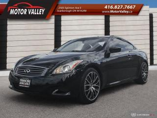 Used 2010 Infiniti G37 G37s Sport Very Clean! for sale in Scarborough, ON