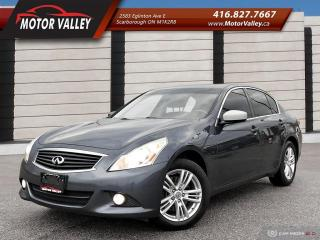 Used 2013 Infiniti G37 G37x AWD Very Clean Vehicle! for sale in Scarborough, ON