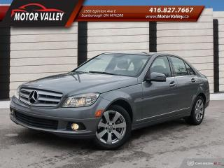 Used 2010 Mercedes-Benz C-Class C250 4MATIC 085,856KM 1-Owner No Accident! for sale in Scarborough, ON