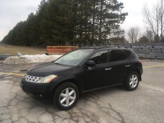 Used 2004 Nissan Murano SE for sale in Toronto, ON