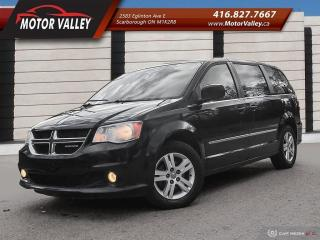 Used 2011 Dodge Grand Caravan Crew Plus NAVIGATION, LEATHER Loaded! for sale in Scarborough, ON