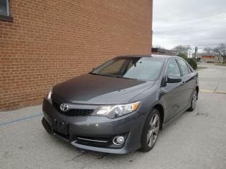 Used 2012 Toyota Camry SE 4 cyl/ Navigation/Leather/Camera for sale in Oakville, ON