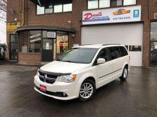 Used 2013 Dodge Grand Caravan Crew Plus - NAVI-BLUETOOTH-BACKUP CAMERA*CERTIFIED for sale in York, ON