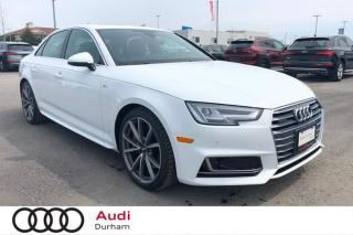 Used 2018 Audi A4 2.0 TFSI quattro Technik S tronic for sale in Whitby, ON
