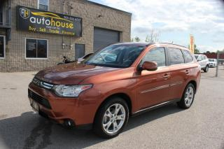 Used 2014 Mitsubishi Outlander GT,7PASS,S-AWD,LEATHER,SUNROOF,BACKUP CAMERA,REMOTE STARTER for sale in Newmarket, ON