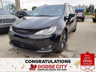 New 2020 Chrysler Pacifica Red S for sale in Saskatoon, SK