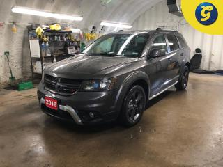 Used 2018 Dodge Journey Crossroad * AWD * DVD * Navigation * Sunroof * Leather * Remote start * 8.2 inch UCONNECT touch screen * 7 passenger *  Push button ignition * Heated for sale in Cambridge, ON
