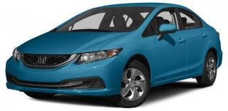 Used 2015 Honda Civic LX ECO ASSIST SYSTEM |  REARVIEW CAMERA WITH GUIDELINES | HEATED SEATS for sale in Cambridge, ON