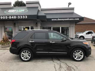 Used 2014 Ford Explorer LIMITED for sale in Mississauga, ON