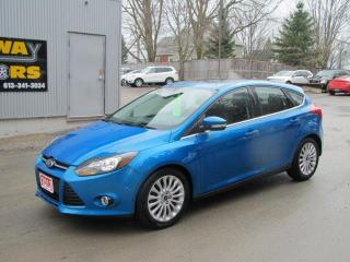 Used 2012 Ford Focus Titanium for sale in Brockville, ON