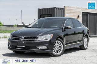 Used 2016 Volkswagen Passat Comfortline|Clean Carfax|Leather|Sunroof|BackupCam for sale in Bolton, ON