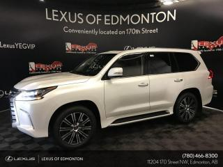New 2020 Lexus LX 570 EXECUTIVE PACKAGE for sale in Edmonton, AB