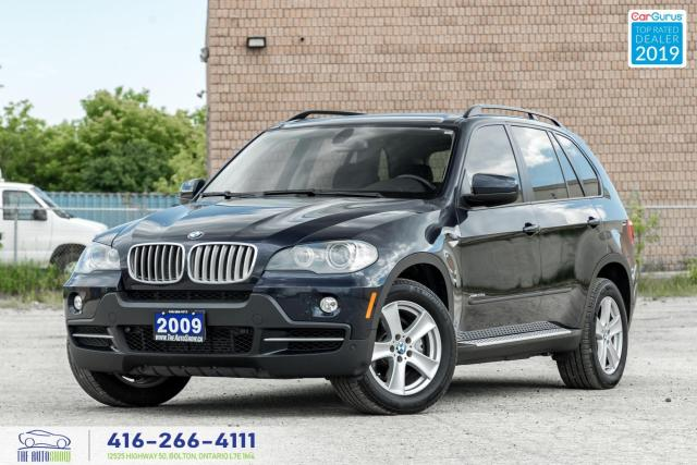 2009 BMW X5 xDrive 35d|Navi|Backup Cam|Leather|Pano.Roof