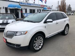 Used 2012 Lincoln MKX Limited -AWD-NAVI-Accident Free for sale in Stoney Creek, ON