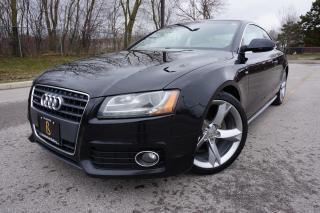Used 2011 Audi A5 S-LINE/ 6SPD MANUAL / NO ACCIDENTS / LOW KM'S for sale in Etobicoke, ON