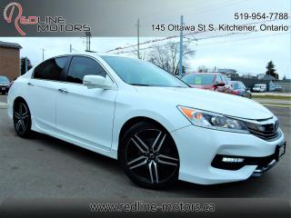 Used 2016 Honda Accord Sport w/Honda Sensing.Auto for sale in Kitchener, ON