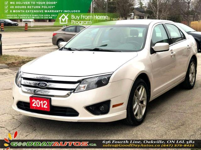 2012 Ford Fusion SEL|LOW KM|NO ACCIDENT|BLUETOOTH|CERTIFIED