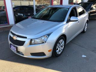 Used 2013 Chevrolet Cruze LT Turbo for sale in Hamilton, ON