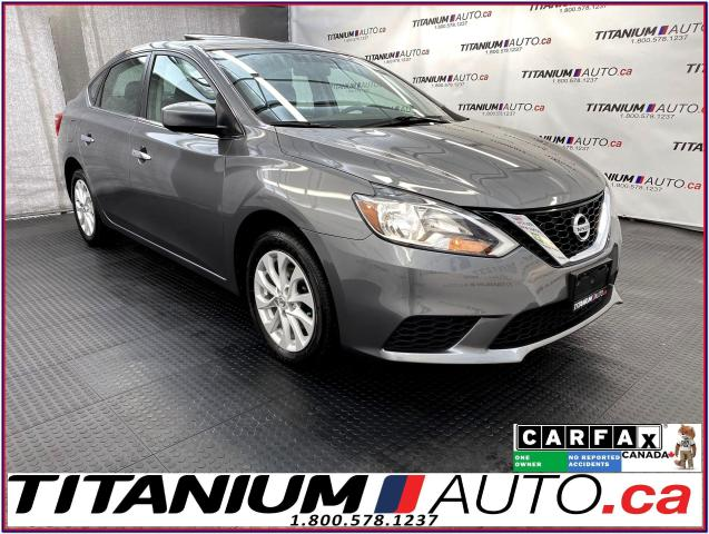 2017 Nissan Sentra SV-Tech+GPS+Camera+Blind Spot+Sunroof+Heated Seats