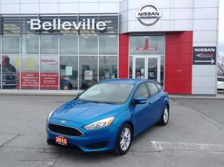 Used 2015 Ford Focus SE HEATED SEATS, BLUETOOTH, ALLOY WHEELS,1 OWNER for sale in Belleville, ON