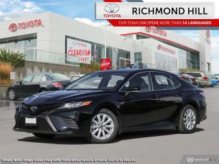 New 2020 Toyota Camry SE  - Paddle Shifters -  Sporty Styling - $111.92 /Wk for sale in Richmond Hill, ON