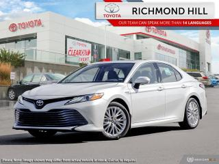 New 2020 Toyota Camry HYBRID XLE  - Sunroof -  Navigation for sale in Richmond Hill, ON