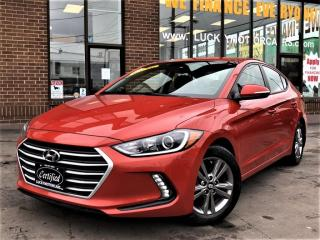 Used 2017 Hyundai Elantra GL-CAMERA-BLIND SPOT-HEATED STEERING/SEATS-APPLE CARPLAY for sale in Toronto, ON