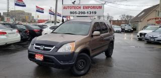 Used 2004 Honda CR-V AWD All Power/Clarion Radio/Keyless for sale in Mississauga, ON