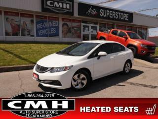 Used 2015 Honda Civic SEDAN LX for sale in St. Catharines, ON