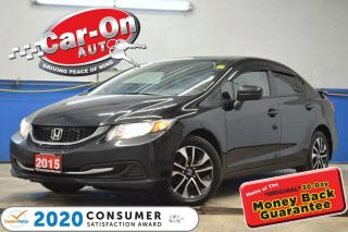 Used 2015 Honda Civic EX SUNROOF REAR CAM HTD SEATS BLUETOOTH ALLOYS for sale in Ottawa, ON