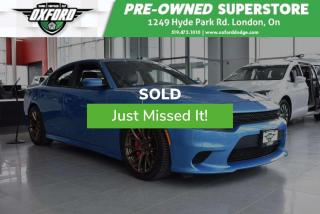 Used 2015 Dodge Charger SRT Hellcat - 6.2L Supercharged V8, Amazing Condit for sale in London, ON