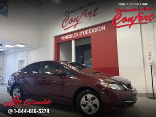 Used 2013 Honda Civic Honda Civic LX for sale in Chicoutimi, QC