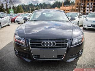 Used 2012 Audi A5 Prestige for sale in Port Moody, BC