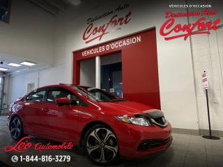 Used 2014 Honda Civic rare et bas KM for sale in Chicoutimi, QC
