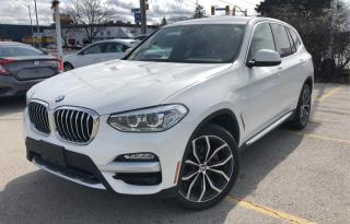 Used 2018 BMW X3 xDrive30i Sports Activity Vehicle for sale in Burlington, ON