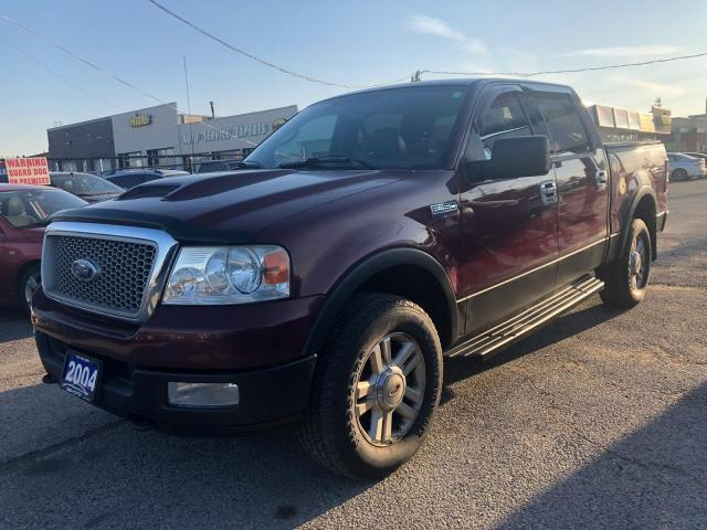 2004 Ford F-150 4WD LARIAT, LEATHER, 3 YR WARRANTY, CERTIFIED