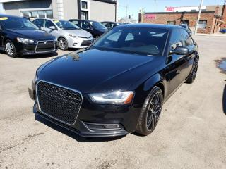 Used 2013 Audi A4 AWD**Sunroof*Leather*Heated Seats*Clean Carfax** for sale in Hamilton, ON