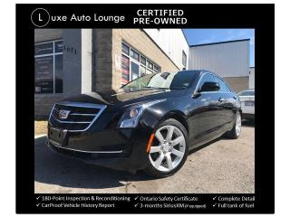 Used 2015 Cadillac ATS AUTO, BOSE AUDIO, HEATED POWER SEATS, BLUETOOTH! for sale in Orleans, ON