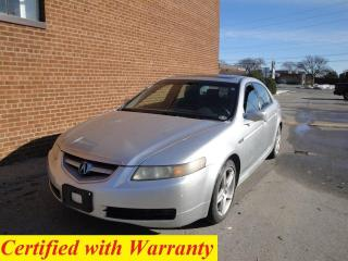 Used 2006 Acura TL leather /sunroof /safety/warranty/REBUILT TITLE for sale in Oakville, ON