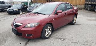 Used 2008 Mazda MAZDA3 AS-IS SPECIAL / RUNS AND DRIVES / GOOD STARTER CAR for sale in Etobicoke, ON