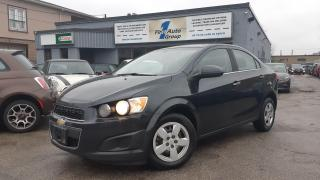 Used 2014 Chevrolet Sonic LT Bluetooth, h/seats for sale in Etobicoke, ON