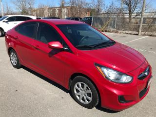 Used 2012 Hyundai Accent GL ** AUX/USB IN , CRUISE ** for sale in St Catharines, ON