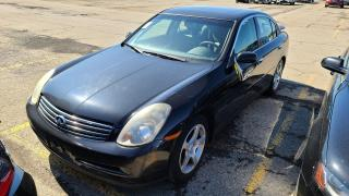 Used 2004 Infiniti G35 Luxury|Navigation|Leather|HeatedSeats|Alloys for sale in Bolton, ON
